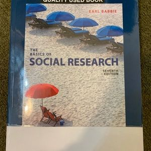 The Basics of Social Research BOOK-7th Ed.